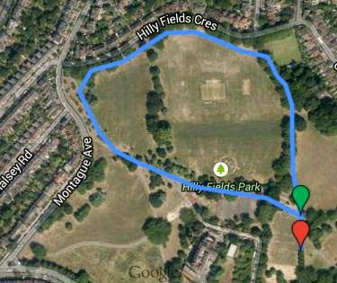 Go Feet Junior Parkrun Comes To Hilly Fields