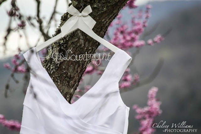 Wedding dress, cherry tree, wedding photographer,