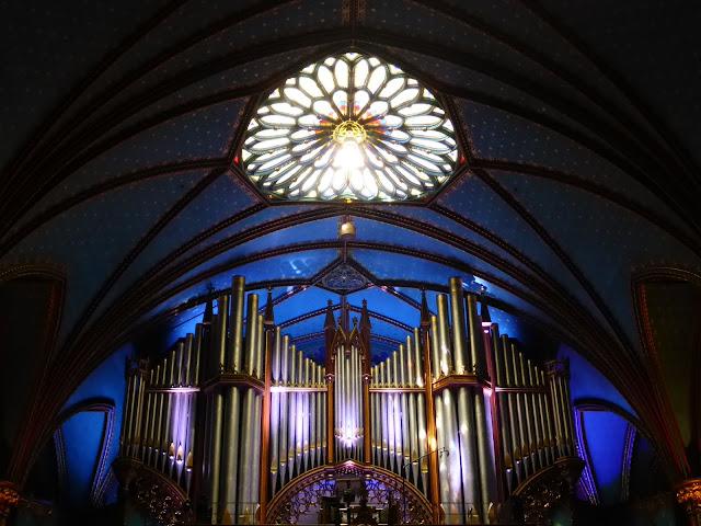 orgue Casavant basilique Notre Dame de Montréal Montréal Québec
