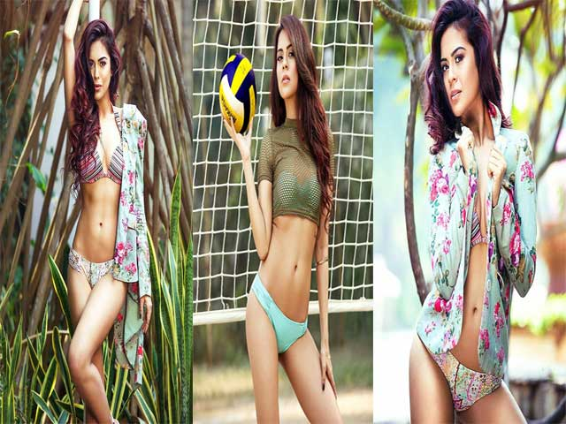 Sana Saeed Showed her Killer Figure, In Bikini!