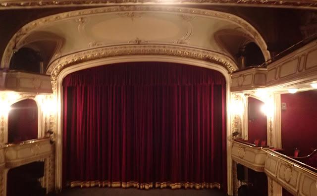 Cieszyński teatr od środka