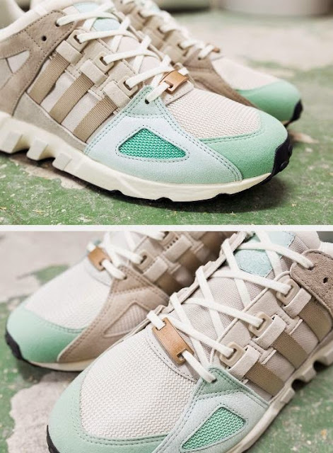 "lowest price de2ec 54f53 Here is a detailed look at the adidas Originals EQT Running Guidance 93 "" Malt"