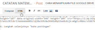 Tutorial Menampilkan File Google Drive di Blog4