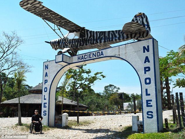 salah satu daerah yang diperkirakan terdapat bunker Escobar,Enormous Sums