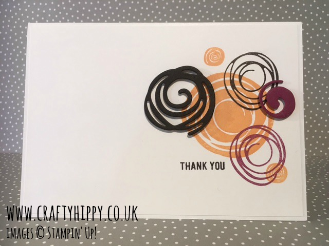 Swirly Scribbles Thinlits Dies, Stampin' Up!