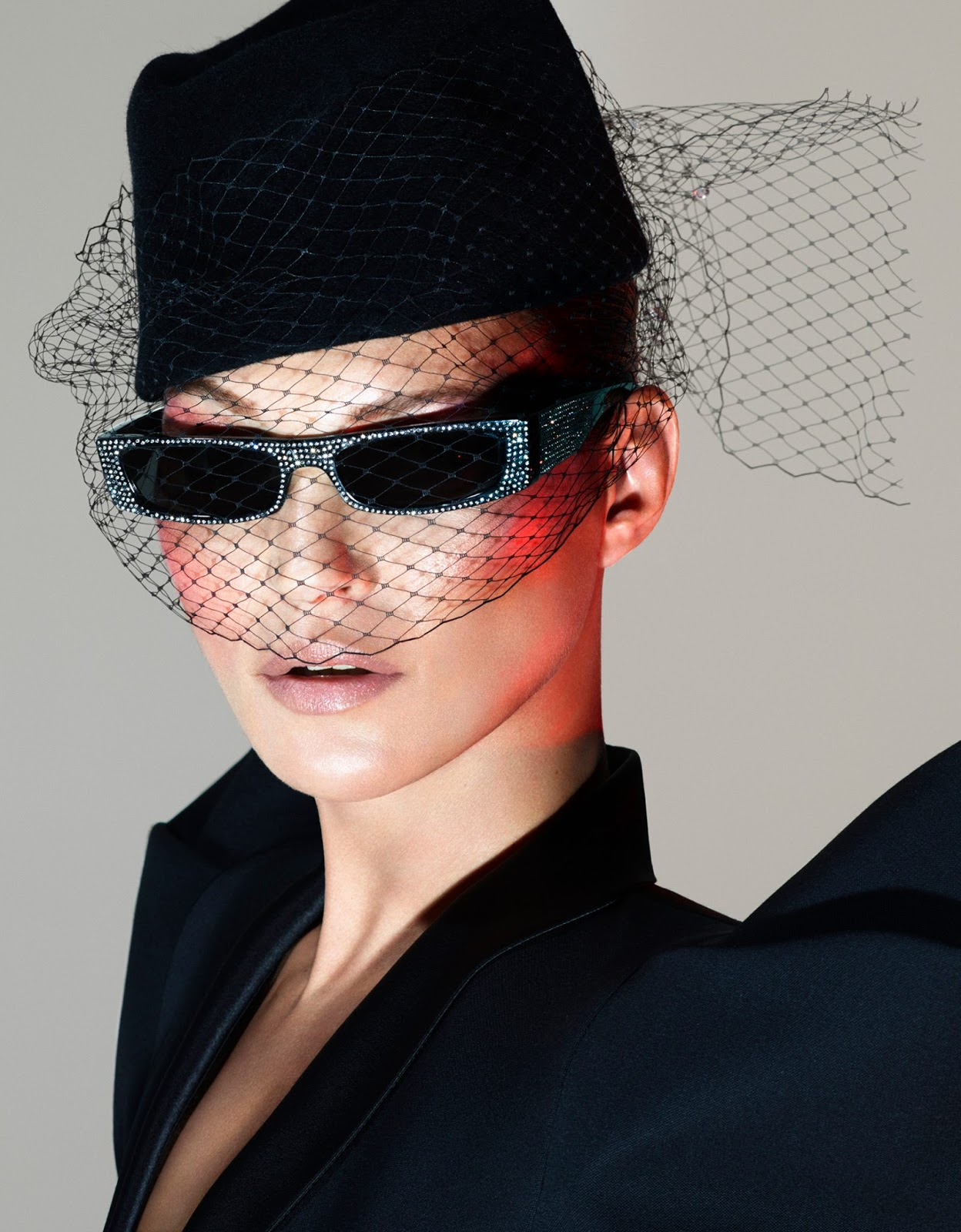 Alain Mikli x Alexandre Vauthier Sunglasses Collection starring Kate Moss