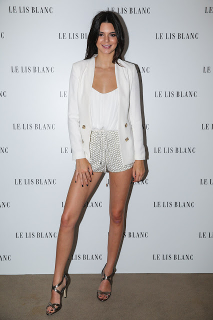 Stunning Kendall Jenner at Le Lis Blanc Event in Brazil