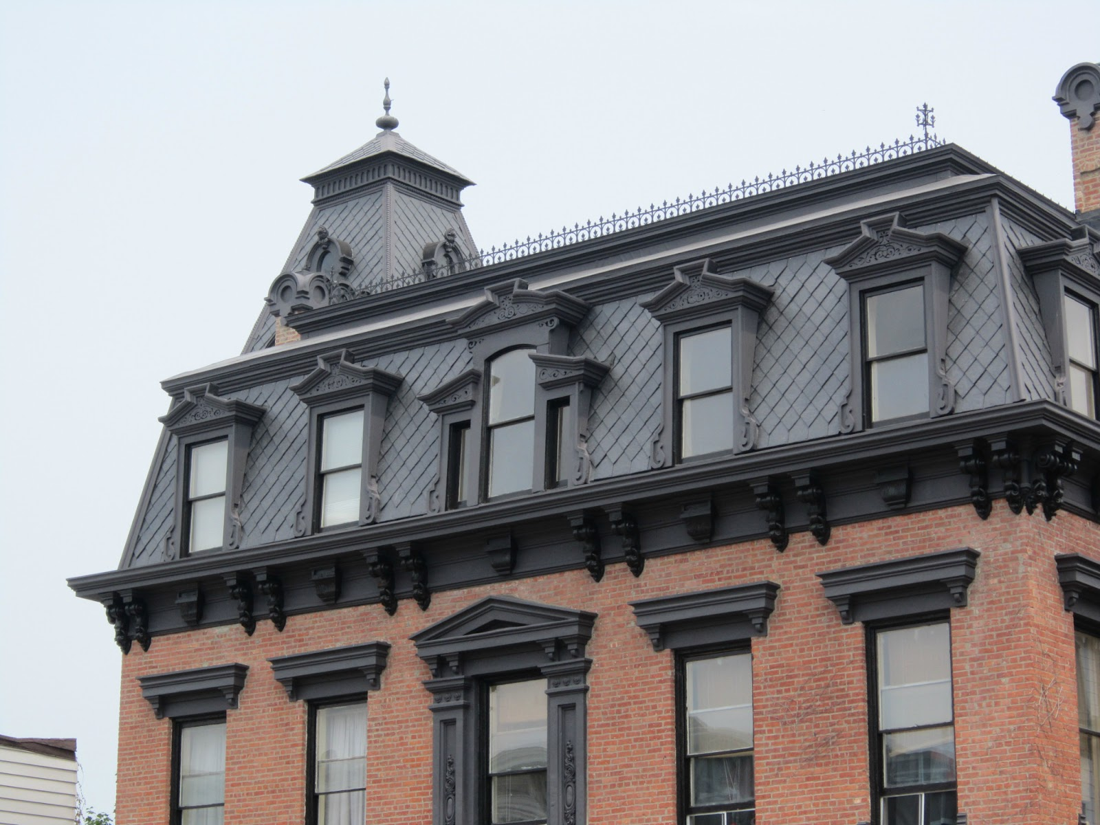 Preservation In Action More Than A Mansard Roof The