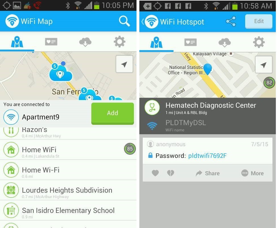 WiFi Map Pro For Android and iOS - WiFi passwords for FREE ...