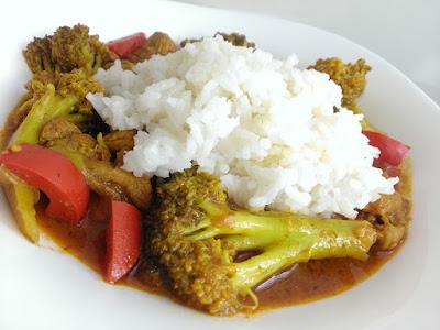 Curry na obiad
