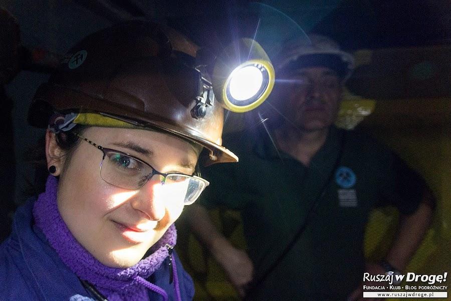 Kopalnia GUIDO - zjazd górniczą szolą
