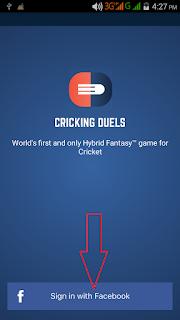 Crickingduels fantasy app