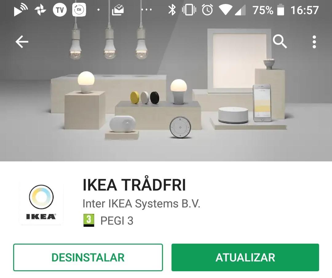 l mpadas tradfri da ikea ganham controlo via google assistant aberto at de madrugada. Black Bedroom Furniture Sets. Home Design Ideas
