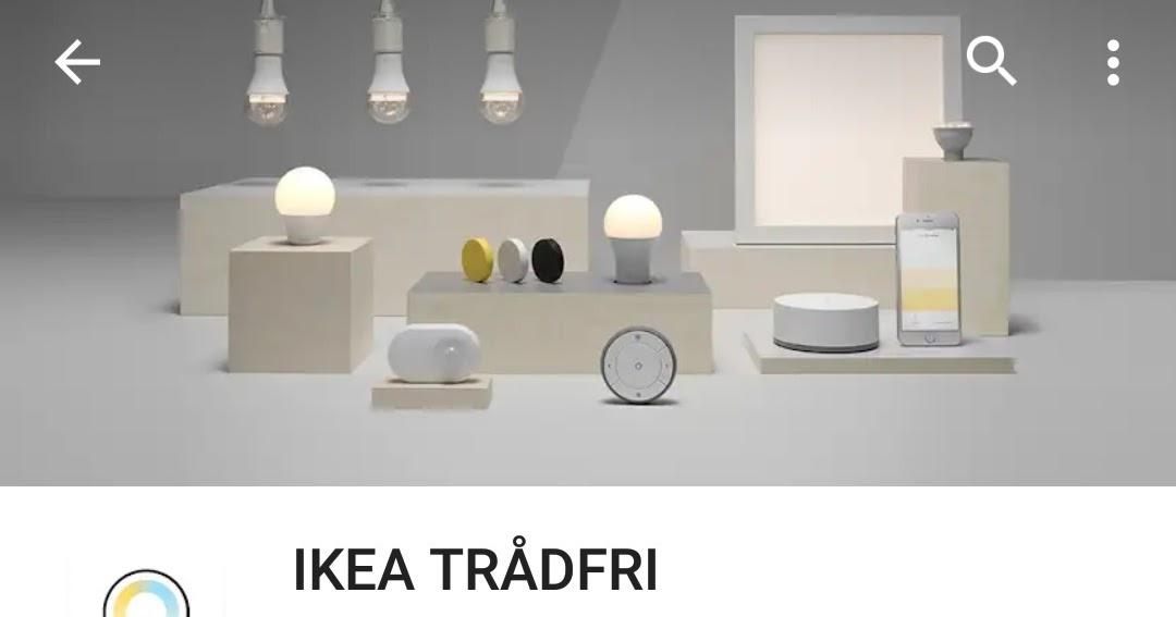a minha alegre casinha l mpadas tradfri da ikea ganham controlo via google assistant. Black Bedroom Furniture Sets. Home Design Ideas