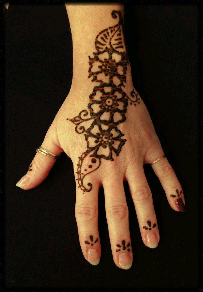 Make Your Henna Tattoo Last Longer Using Saniderm: Dishfunctional Designs: Henna Tattoos At The Banana