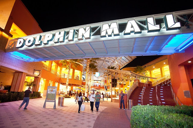 Compras no Shopping Dolphin Mall Miami