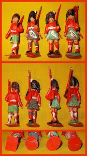 54mm Figures; 54mm Highlanders; 54mm Toy Soldiers; 60mm Figures; 60mm Toy Soldiers; Ceremonial Troops; Charbens Highlanders; Charbens Toy Soldiers; Drumner; Flocked Highlander; Flocked Toy; Flocking; Highland Bandsmen; Highland Pipes & Drums; Highland Toy Figures; Highlanders; Piper; Pipes & Drums; Pipes And Drums; Scots Highlanders; Scots Soldiers; Scots Troops; Scottish Highlanders; Scottish Infantry; Small Scale World; smallscaleworld.blogspot.com;