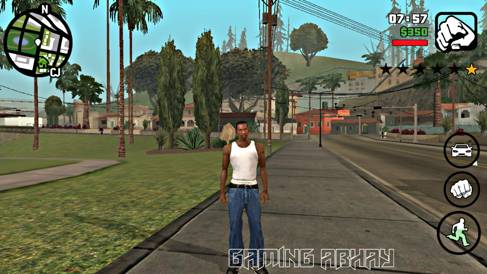 GTA San Andreas Lite is an open-world game where you take on the role of an ex-gangbanger. His name is Carl. He returns home after the death of his most to get the vengeance from the peopleThe obb data file size of the game is 2.4 GB. The apk file has been  highly compressed to just 200 MB!