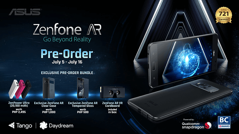 Asus ZenFone AR PH Pre Order With Freebies Announced
