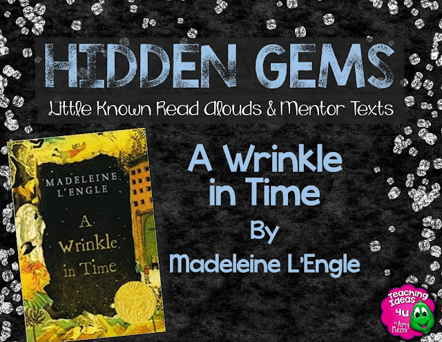 A Wrinkle in Time is a classic story that is as loved today as it was in the past. This scifi fantasy book is a wonderful novel to use to teach characterization and text structure in middle school language arts classes (grades 5, 6, & 7.) Learn more about how to teach the novel in the blog post, as well as download free activities for chapter one.