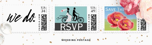 View Wedding Postage