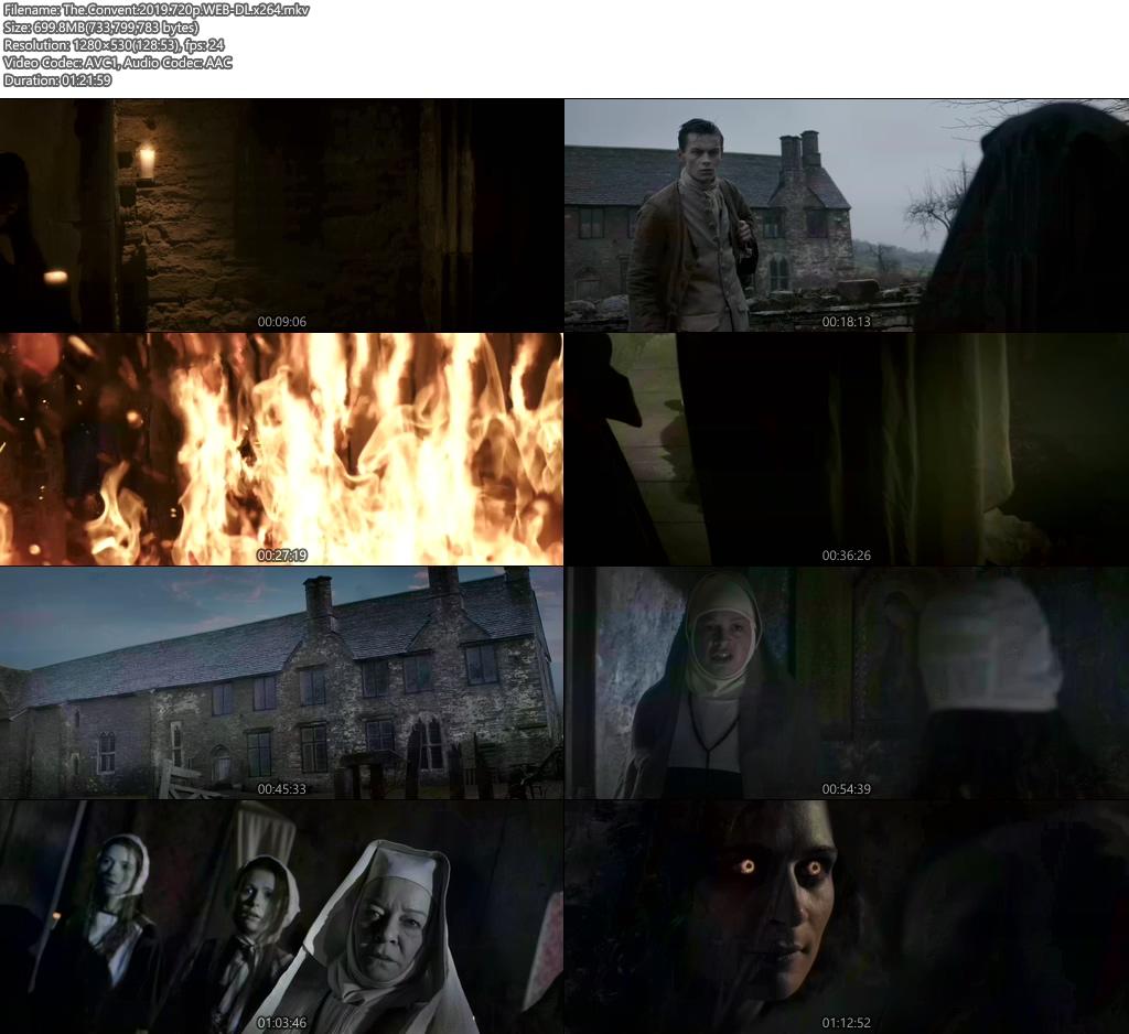 The Convent 2019 720p WEB-DL x264   480p 300MB   100MB HEVC Screenshot