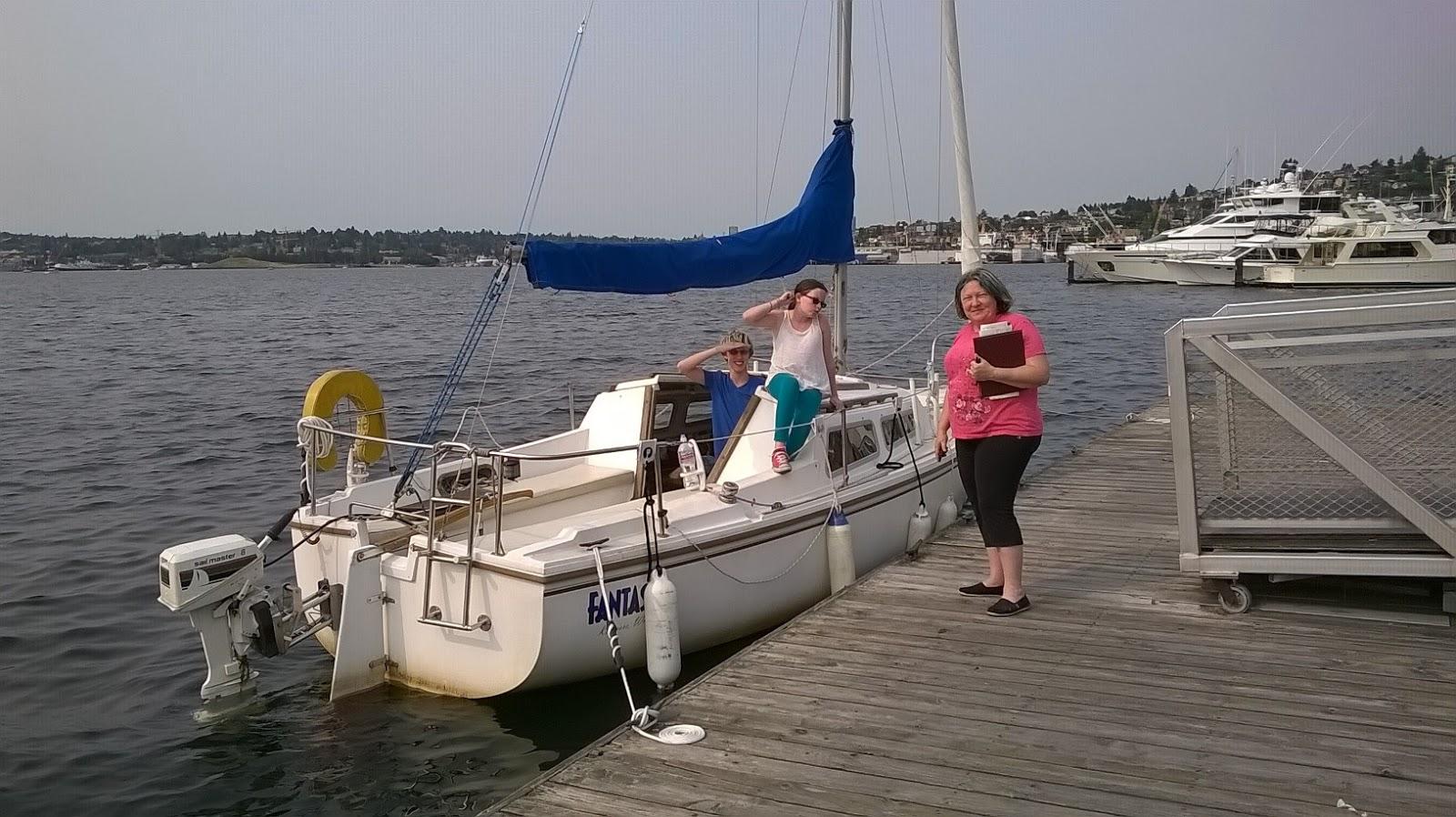 The Catalina 22 Yacht's Log: Sailing to Lake Union