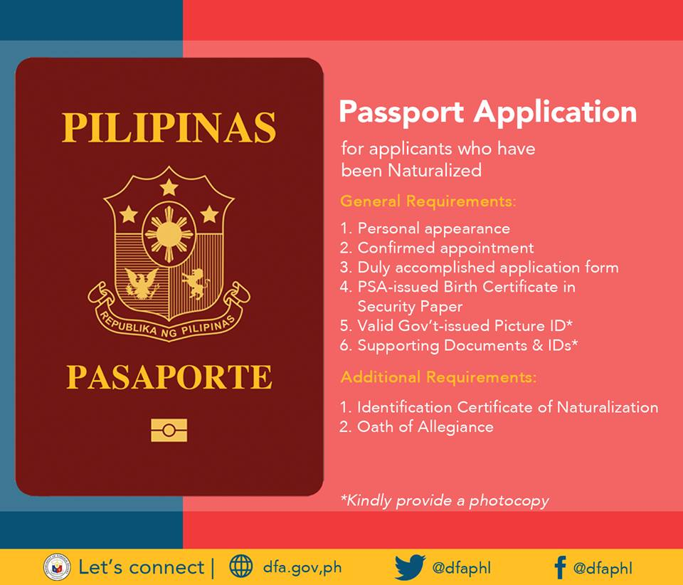 Pinoy seafarers39 rights philippine passport application for Application for us passport 2017