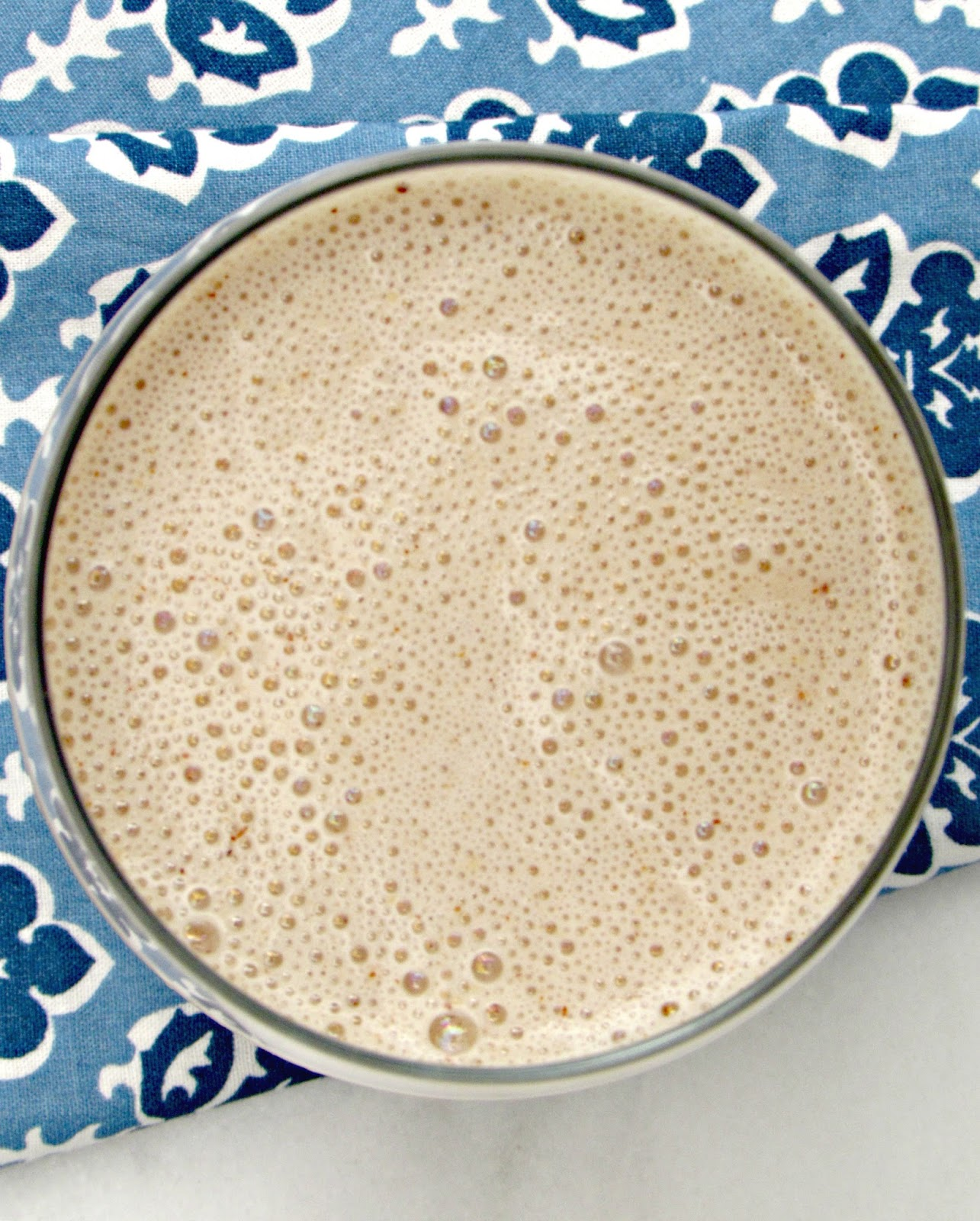 Frozen Chai Milkshake