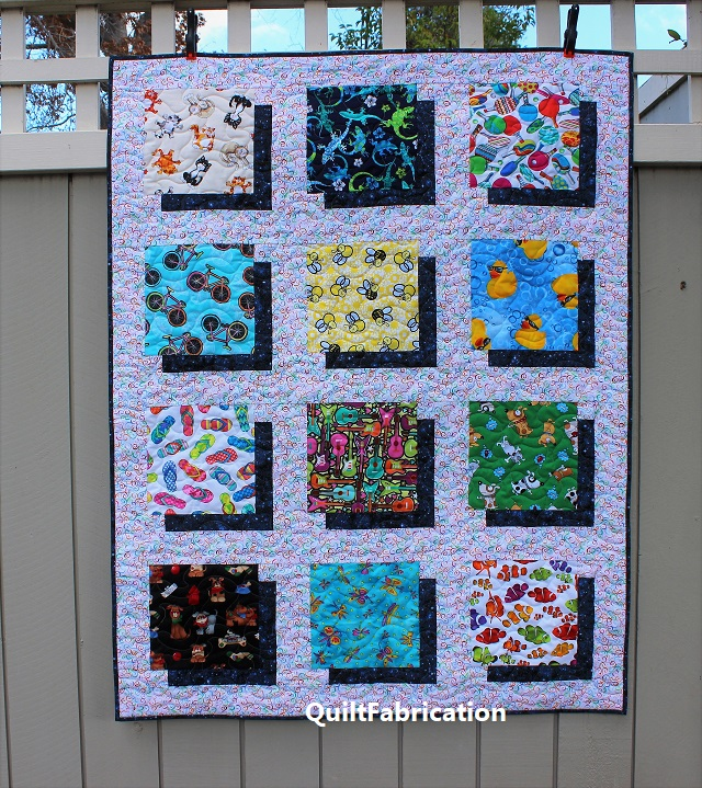 Paradise 2 quilt by QuiltFabrication