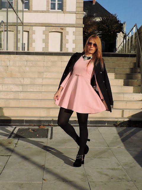 combinar-vestido-rosa