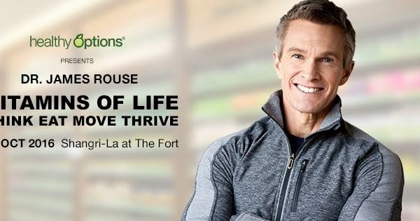 James W Rouse : Healthy options dr james rouse live in manila dear
