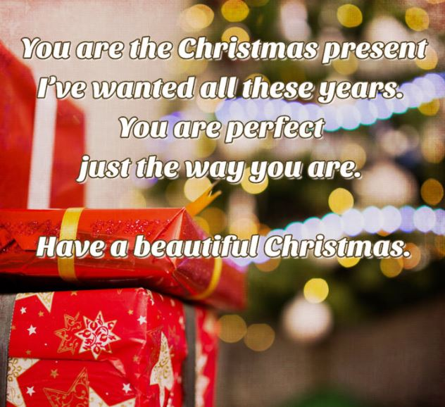 Romantic Christmas Messages