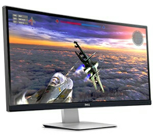Dell UltraSharp U3415W 34-inch curved 3440×1440 IPS monitor for Only $640