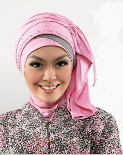 Model Jilbab Kebaya Turban