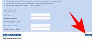 Net banking password recover kaise kare 6