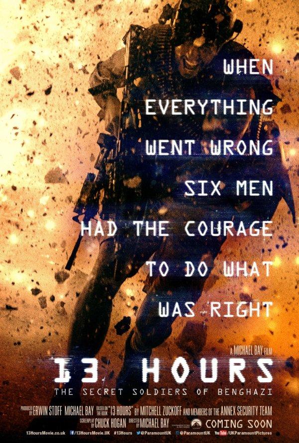 13 Hours: The Secret Soldiers of Benghazi 13 ชม. ทหารลับแห่งเบนกาซี [HD][พากย์ไทย]