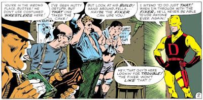 Daredevil #1, Fogwell's Gym