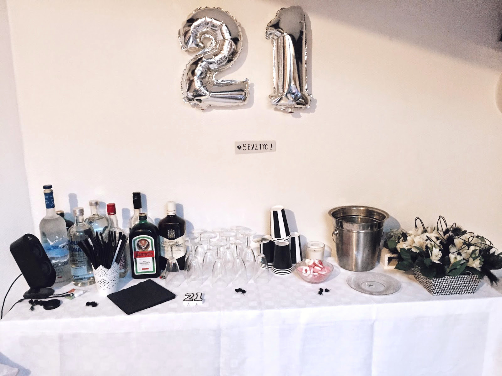 Hema Decoration Anniversaire Birthday Party Mes 21 Ans Wanderlust By Seynabou