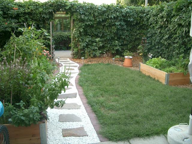 Biogärten gestalten, Doris Kampas, kleiner Stadtgarten