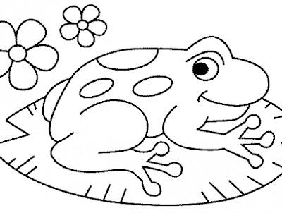 La Chachipedia: Ranas y sapos para colorear