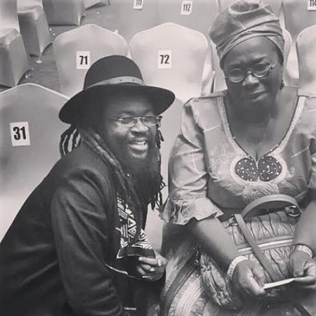 Singer, Asa's Mother Finally Revealed...Looks So Much Like Her Daughter (Photo)