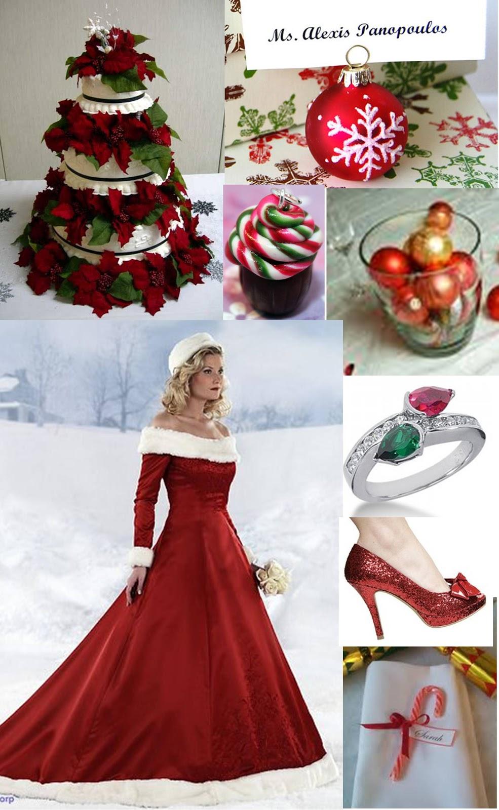 1000 images about Christmas Wedding Theme Inspiration on Pinterest  Christmas wedding