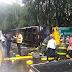 Grave acidente com ônibus de universitários de Guarapuava é registrado no RS