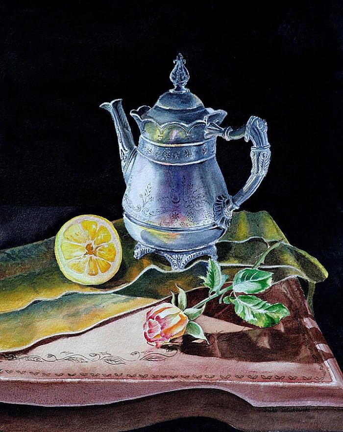 Акварельные рисунки цветов. Irina Sztukowski 7