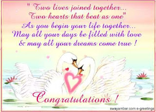 wedding congratulations messages from parents