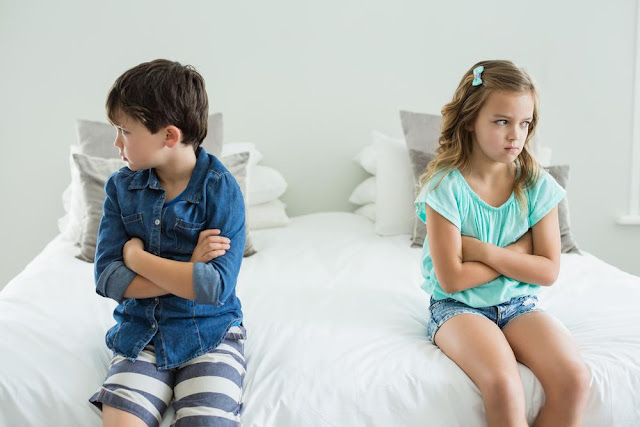 What should be the attitude of the parents on their children's fights?