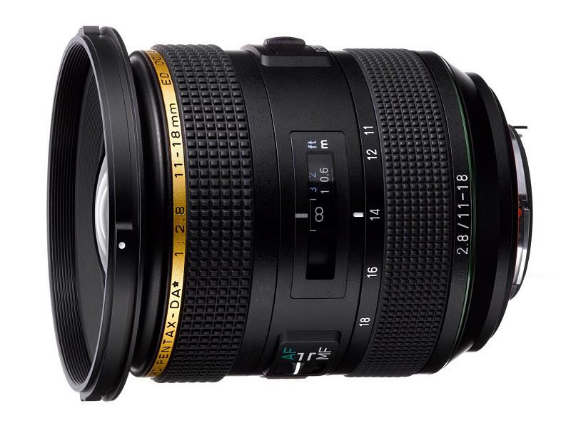 Объектив HD PENTAX-DA ★ 11-18mm f/2.8ED DC AW