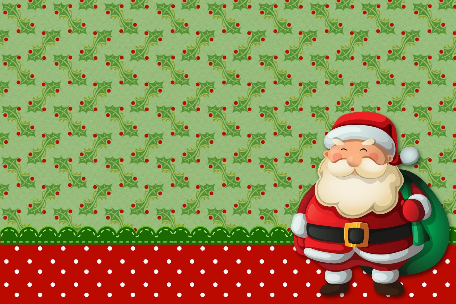 Navidad Invitaciones O Tarjetas Para Imprimir Gratis