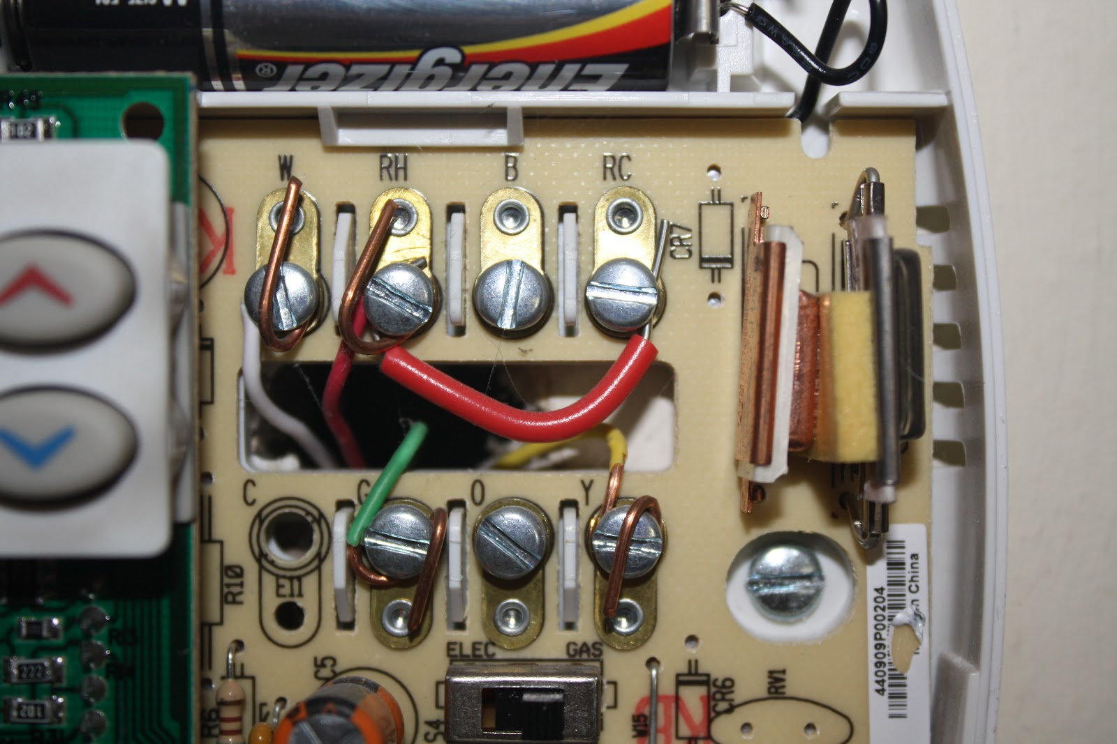 Img on To Wire An Air Conditioner For Control 5 Wires Thermostat Wiring